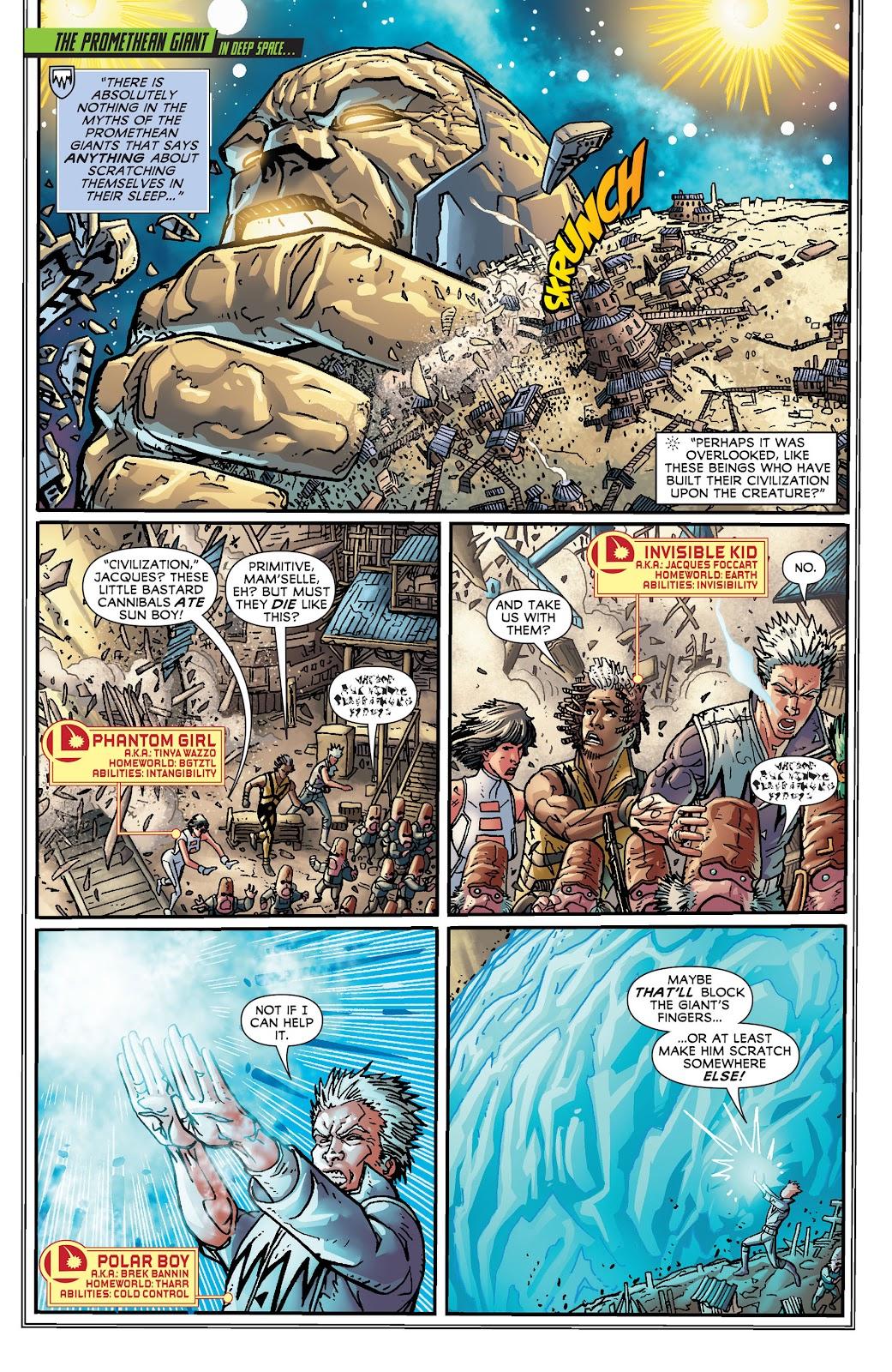 Legion of Super-Heroes (2011) Issue #19 #20 - English 7