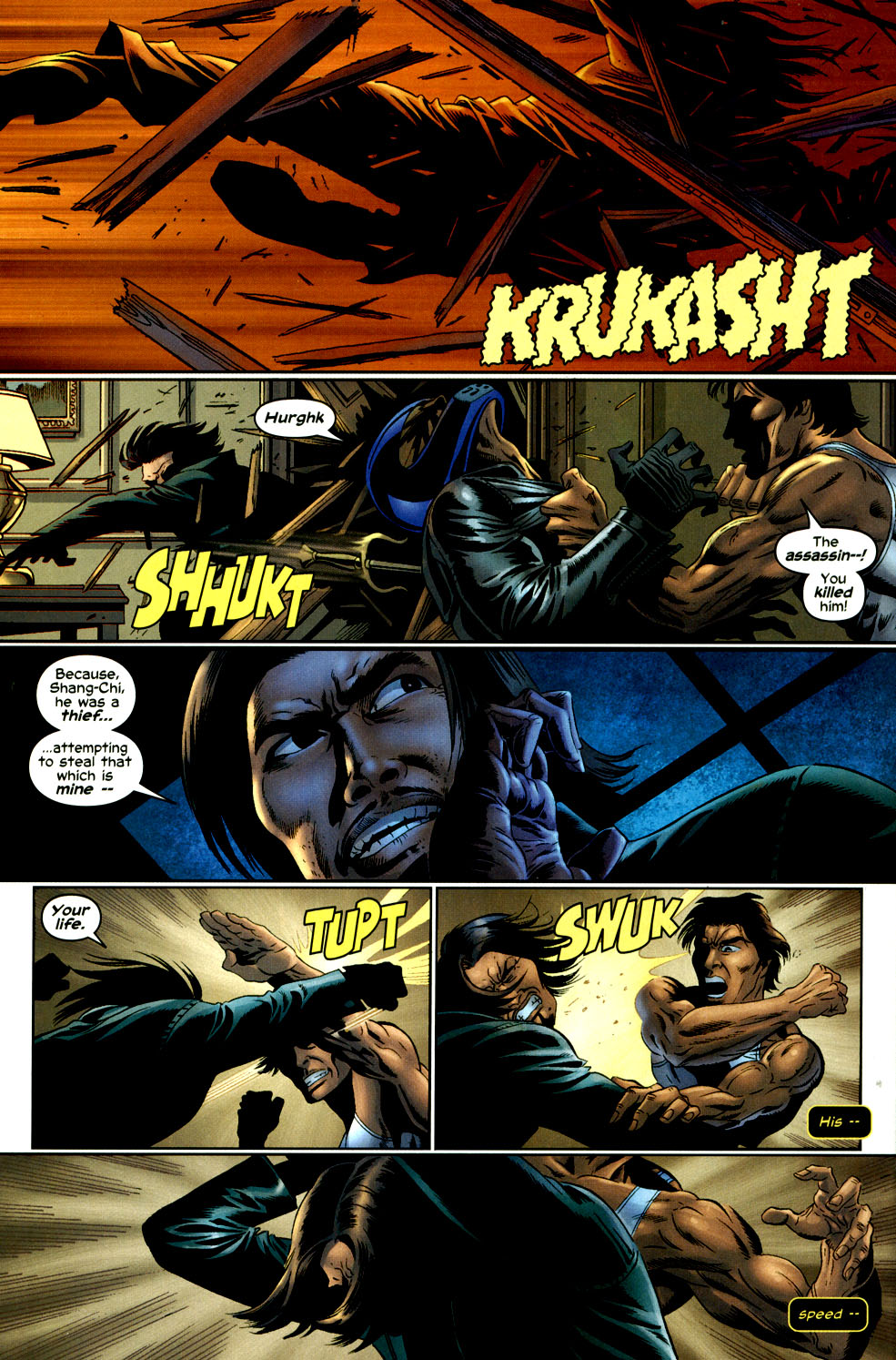 Read online Shang-Chi: Master of Kung Fu comic -  Issue #2 - 18