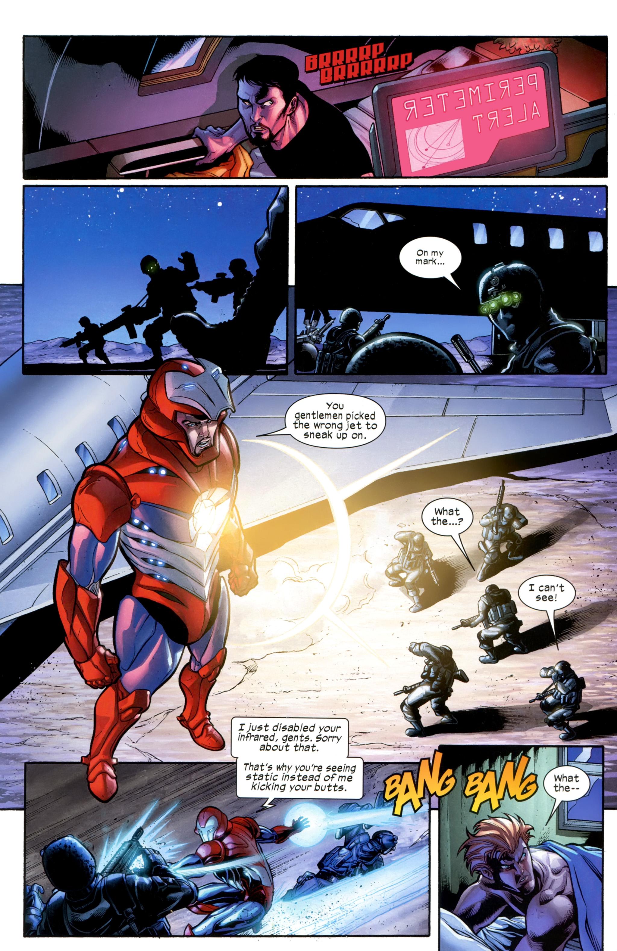Read online Ultimate Comics X-Men comic -  Issue #21 - 17