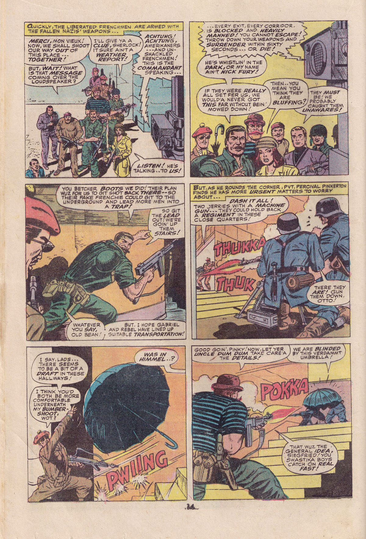 Read online Sgt. Fury comic -  Issue #113 - 16
