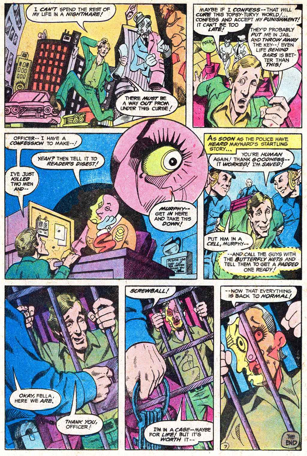 Read online Secrets of Haunted House comic -  Issue #11 - 12