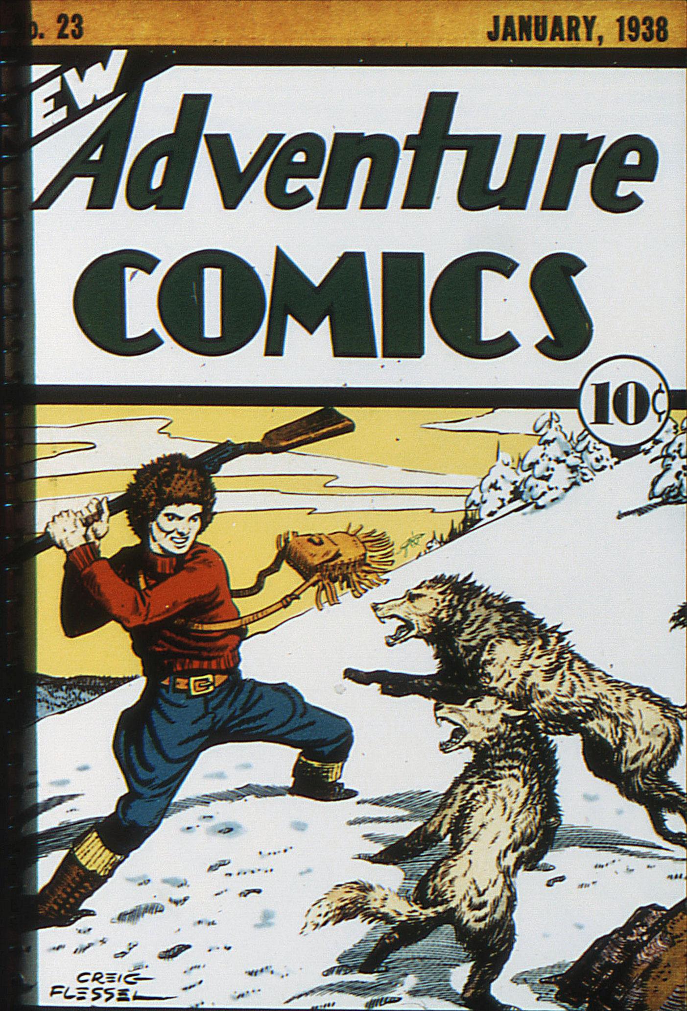 Read online Adventure Comics (1938) comic -  Issue #23 - 1