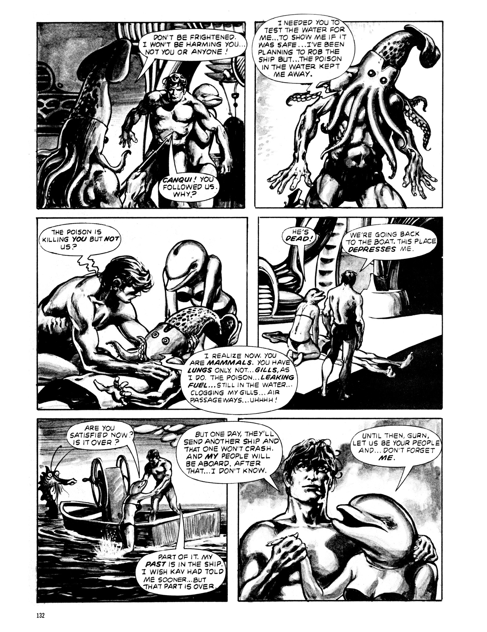 Read online Eerie Archives comic -  Issue # TPB 20 - 132