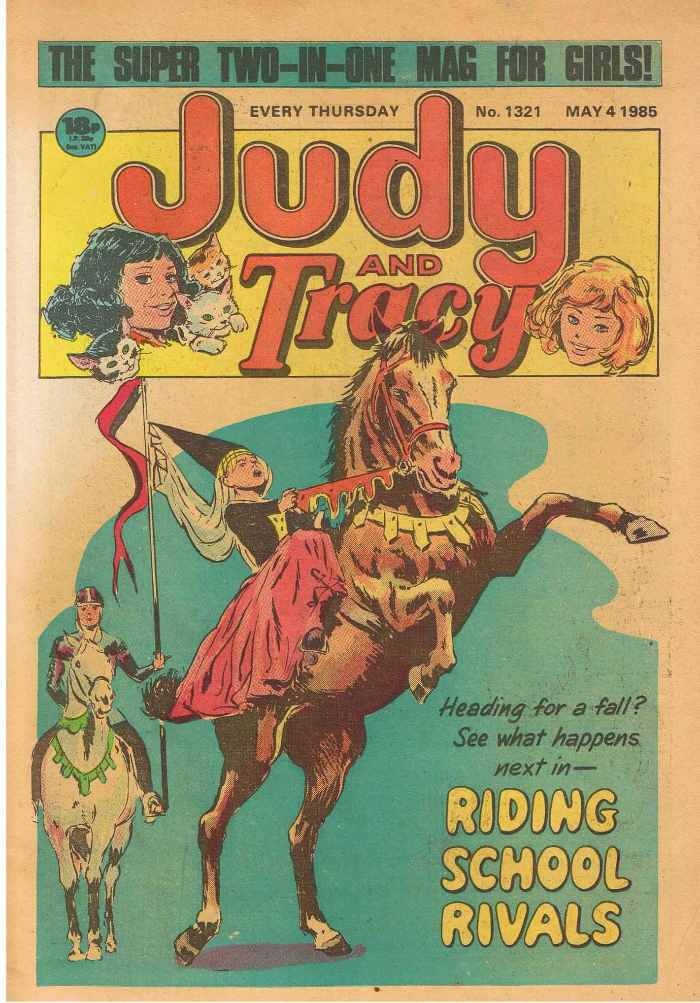 Read online Judy comic -  Issue #1321 - 1