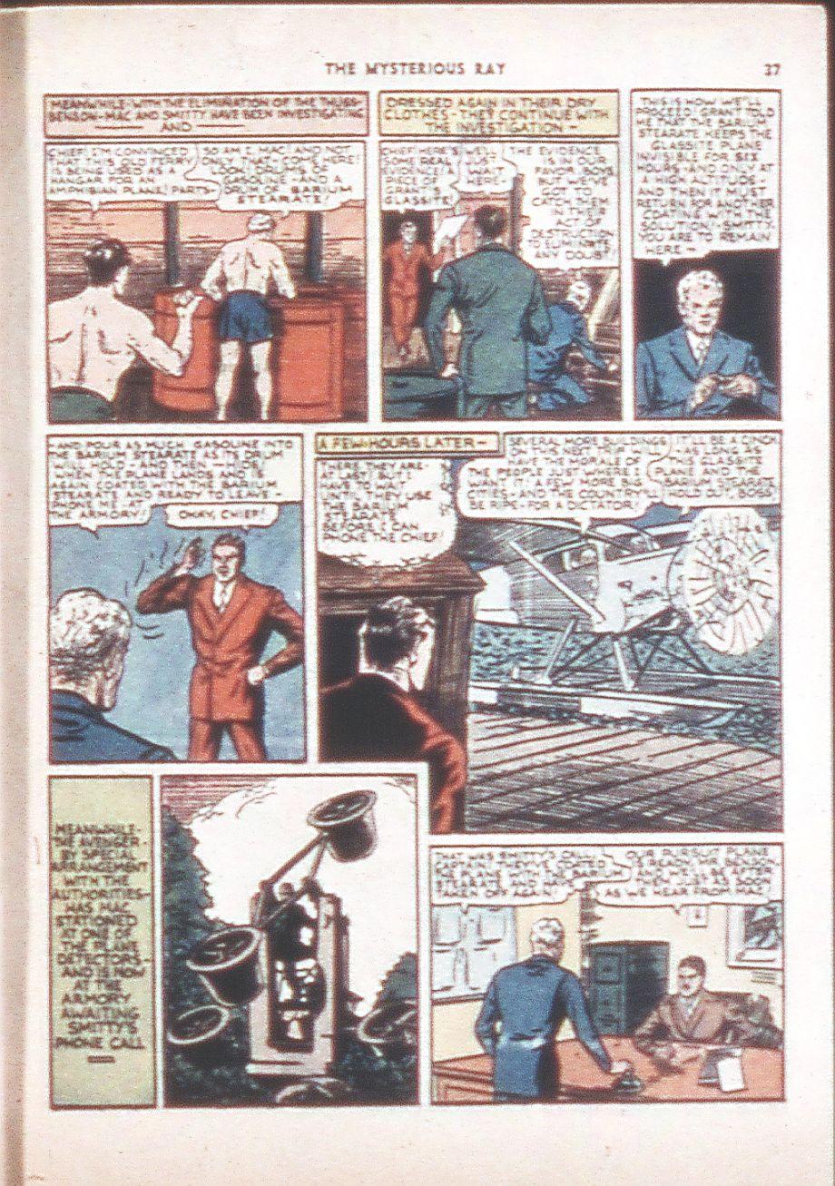 Read online Shadow Comics comic -  Issue #6 - 39