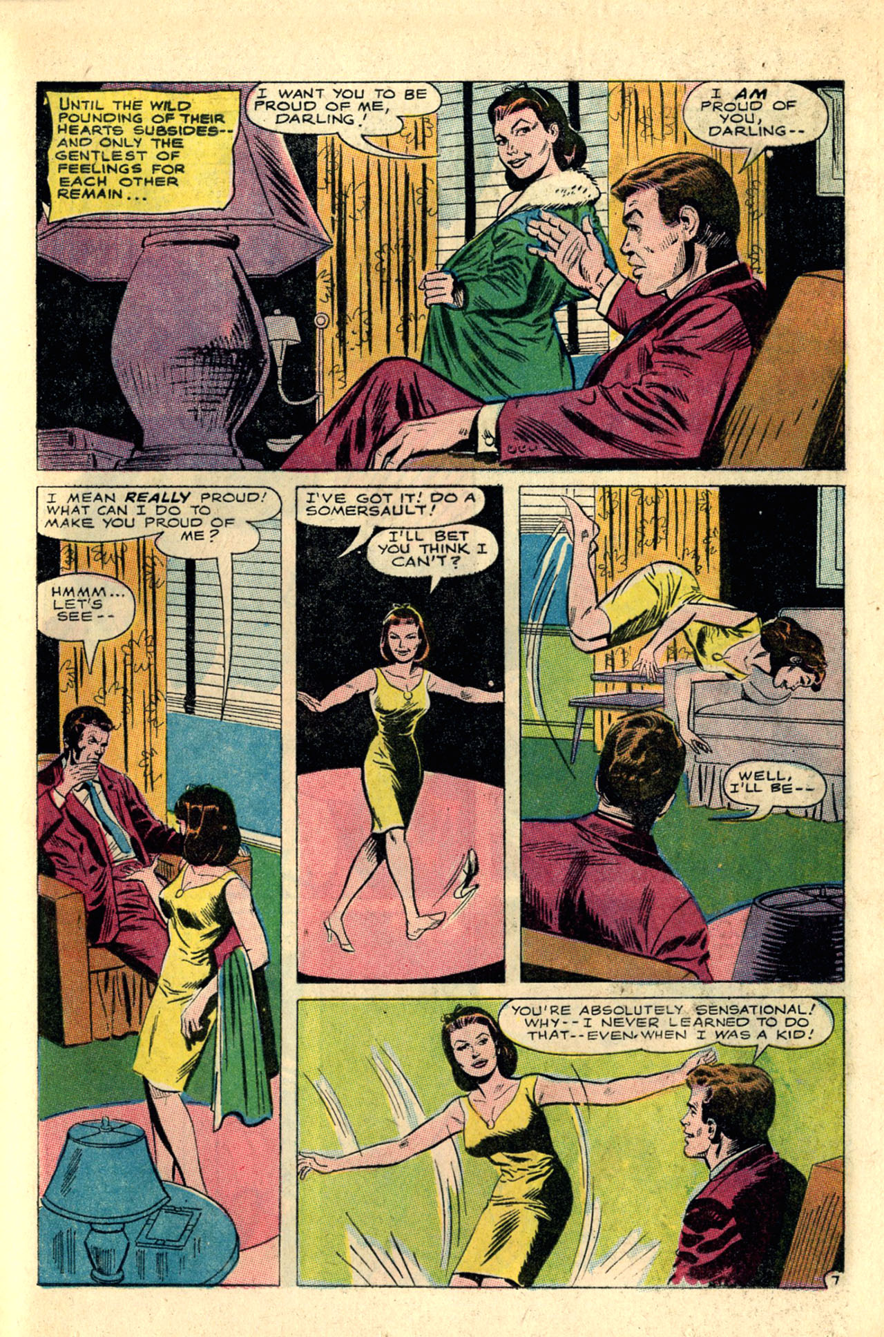 Read online Secret Hearts comic -  Issue #118 - 25