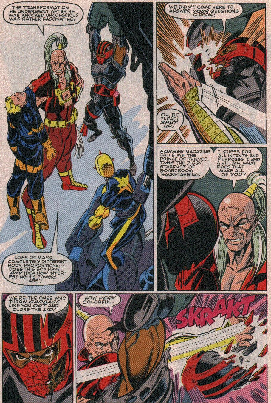 The New Warriors Issue #19 #23 - English 15