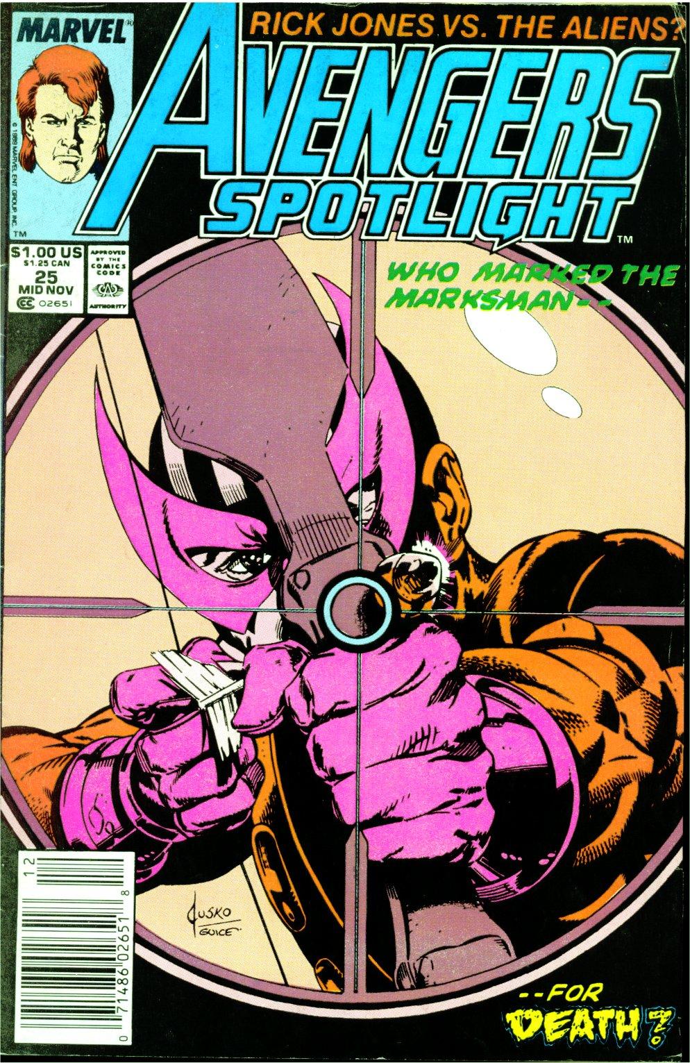 Avengers Spotlight 25 Page 1