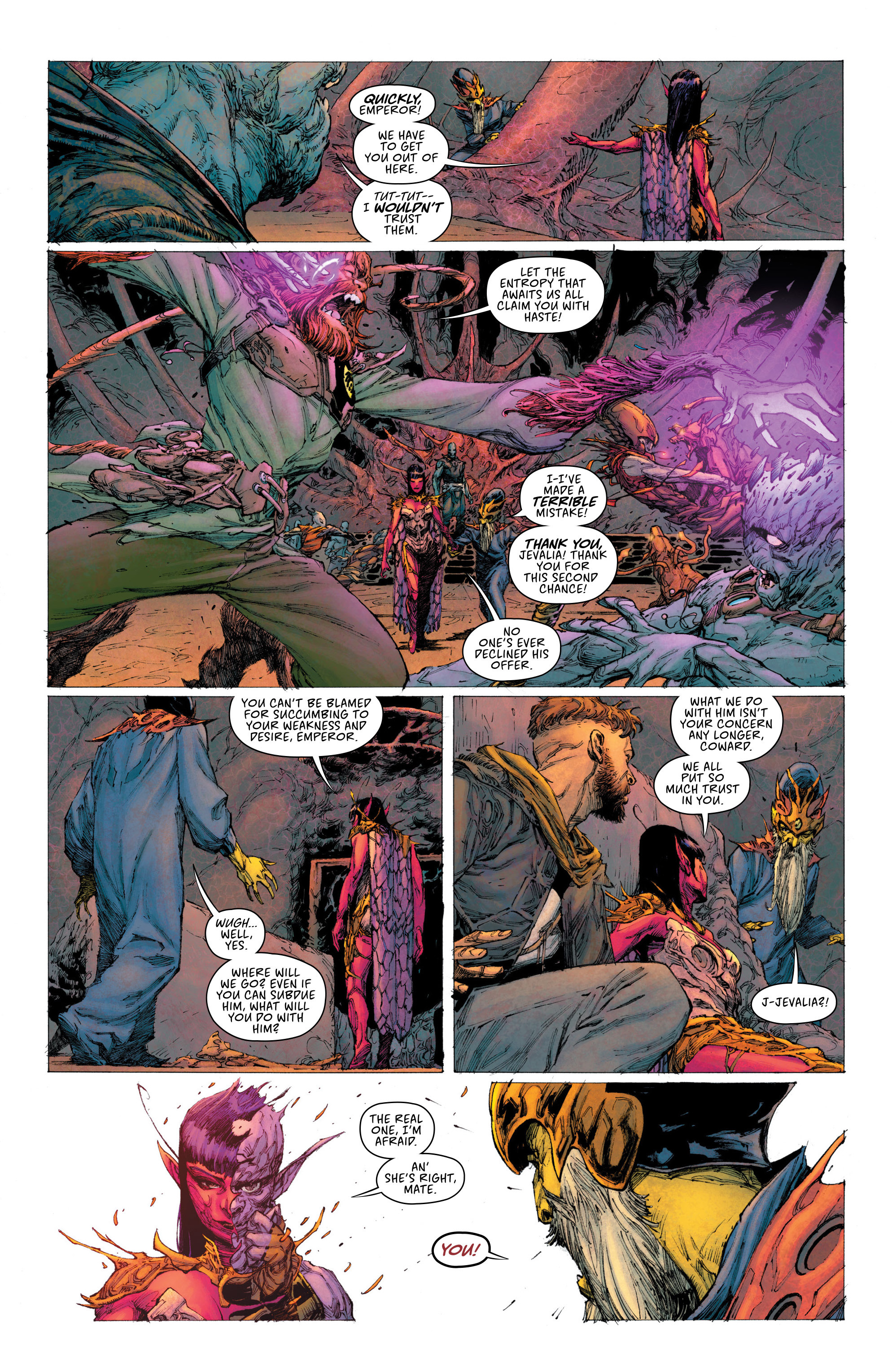 Read online Seven To Eternity comic -  Issue #2 - 21