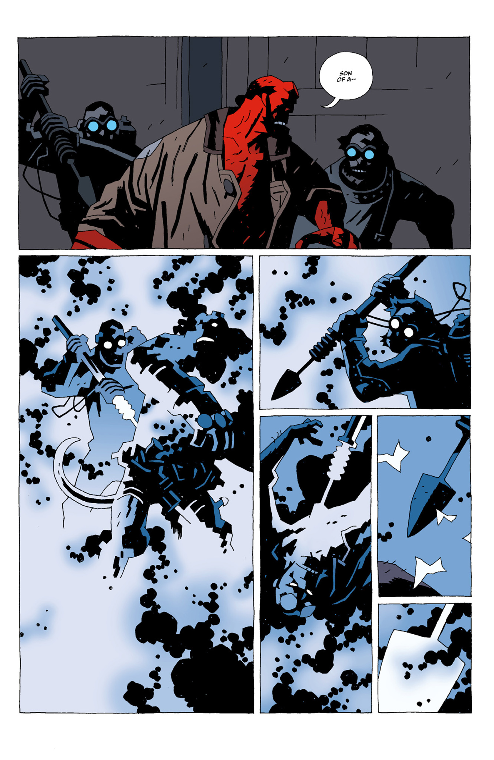 Read online Hellboy: The Troll Witch and Others comic -  Issue # TPB - 61