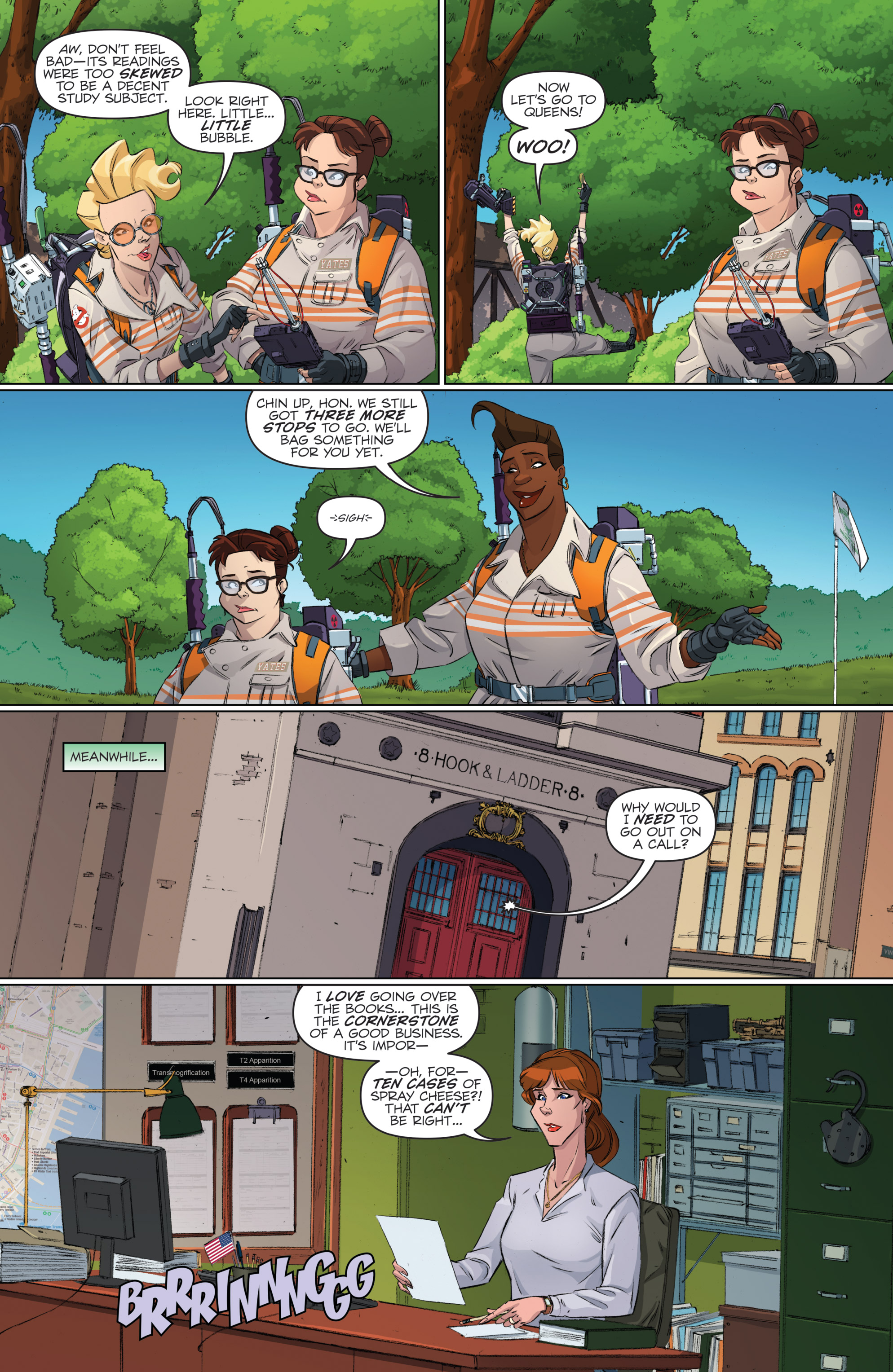 Read online Ghostbusters 101 comic -  Issue #2 - 9