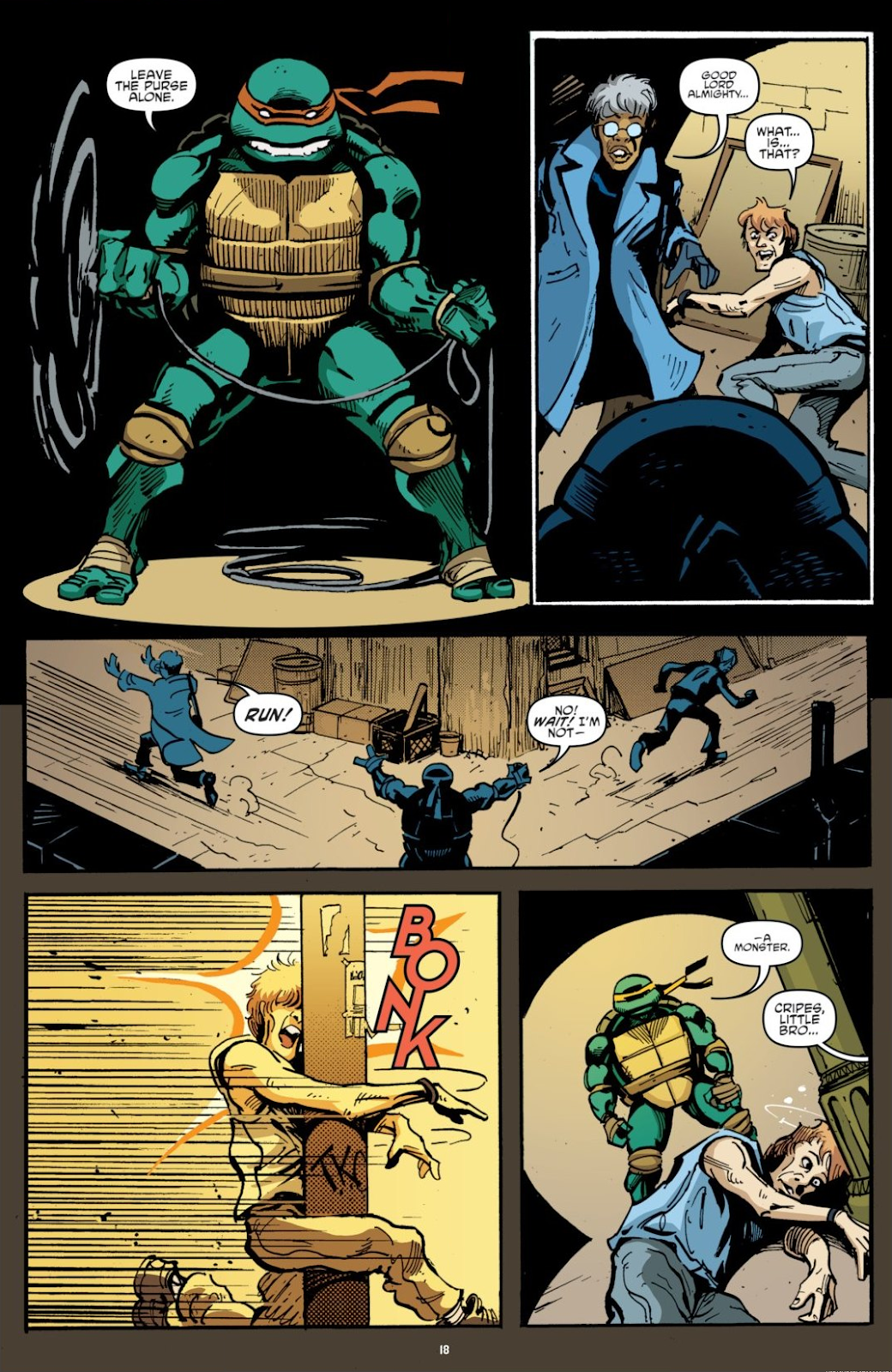Read online Teenage Mutant Ninja Turtles: The IDW Collection comic -  Issue # TPB 7 (Part 1) - 18