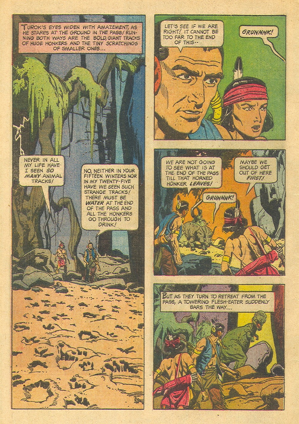 Read online Turok, Son of Stone comic -  Issue #39 - 4