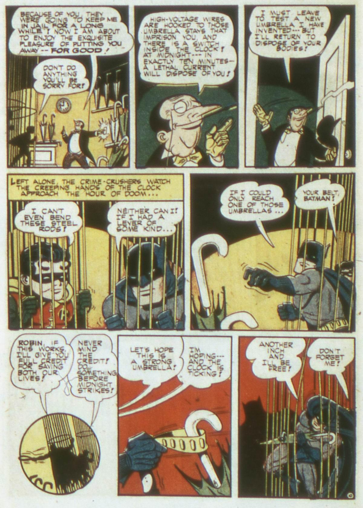 Read online Detective Comics (1937) comic -  Issue #87 - 12