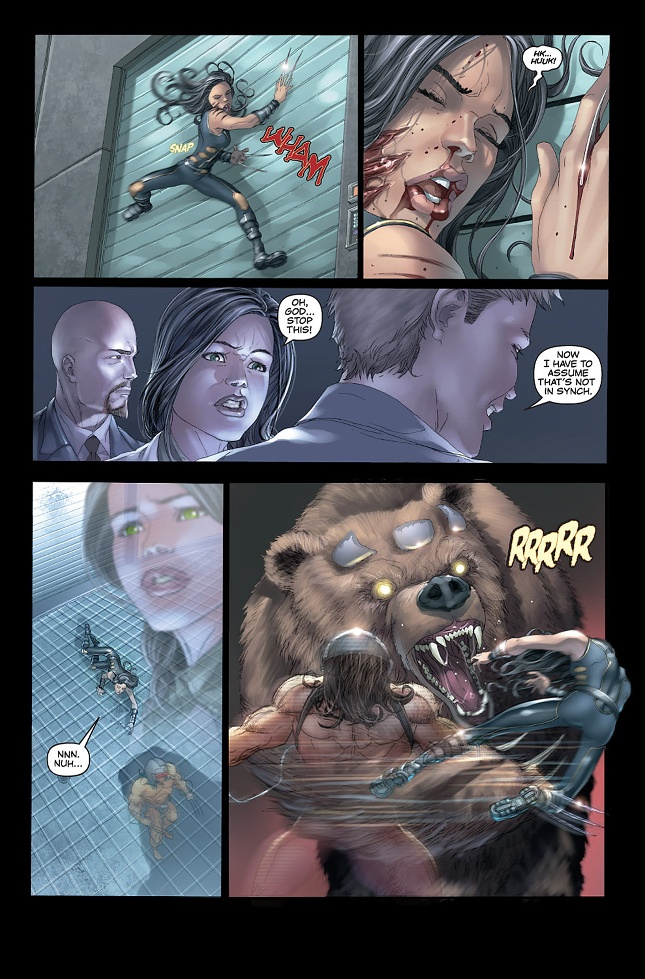 Read online X-23: Target X comic -  Issue #1 - 7