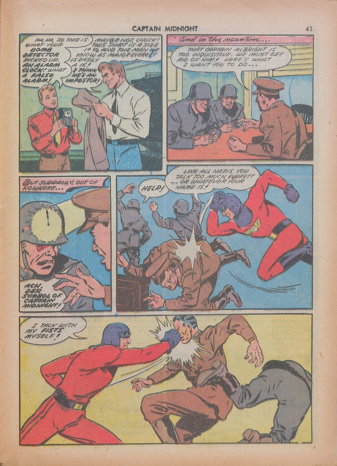 Captain Midnight (1942) issue 7 - Page 41