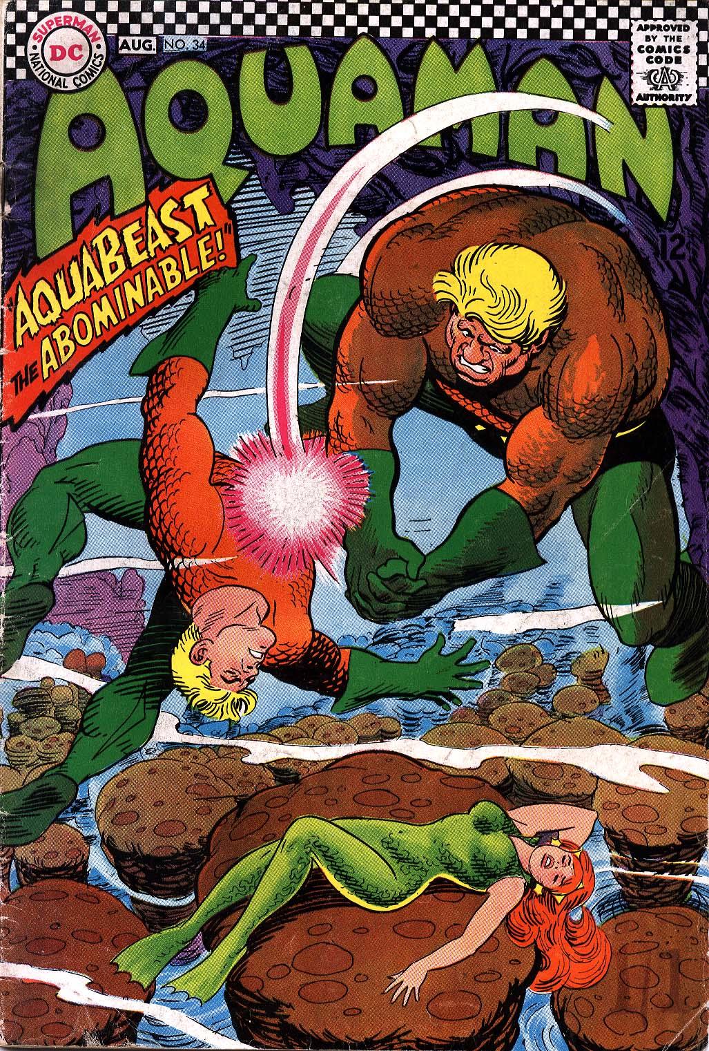 Read online Aquaman (1962) comic -  Issue #34 - 1