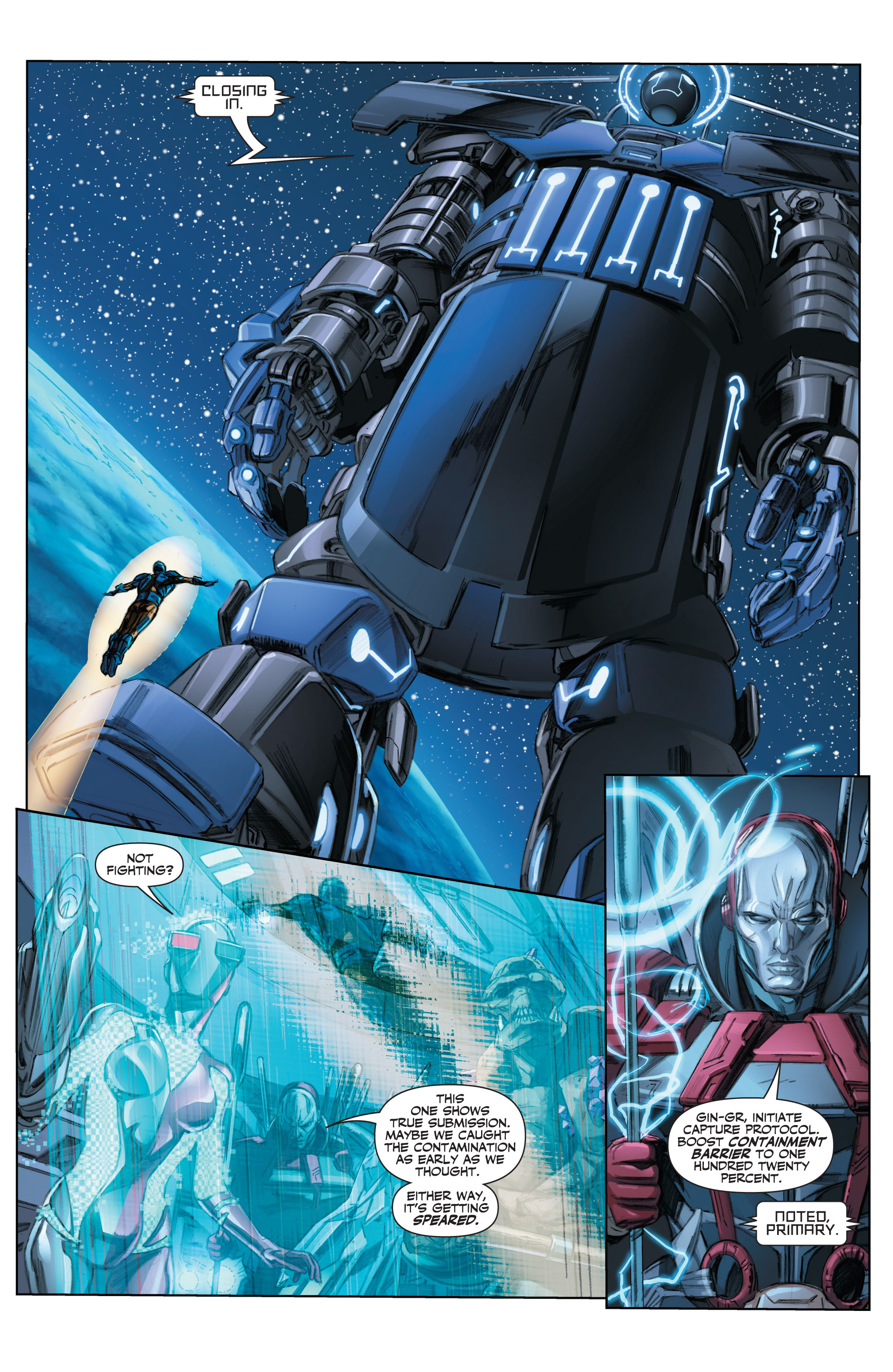 Read online Armor Hunters comic -  Issue #3 - 11