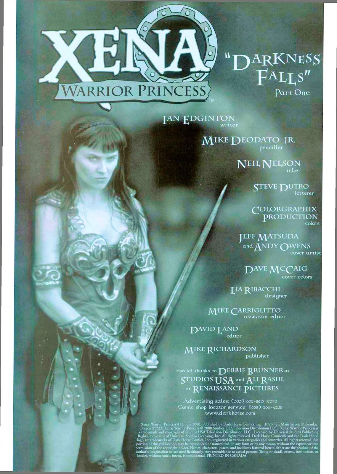 Xena: Warrior Princess (1999) Issue #11 #11 - English 3