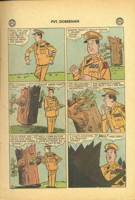 Sgt. Bilko's Pvt. Doberman issue 1 - Page 17