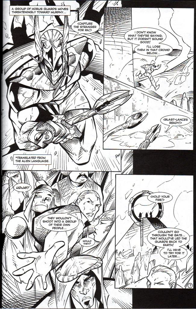 Read online Stargate: One Nation Under Ra comic -  Issue # Full - 9