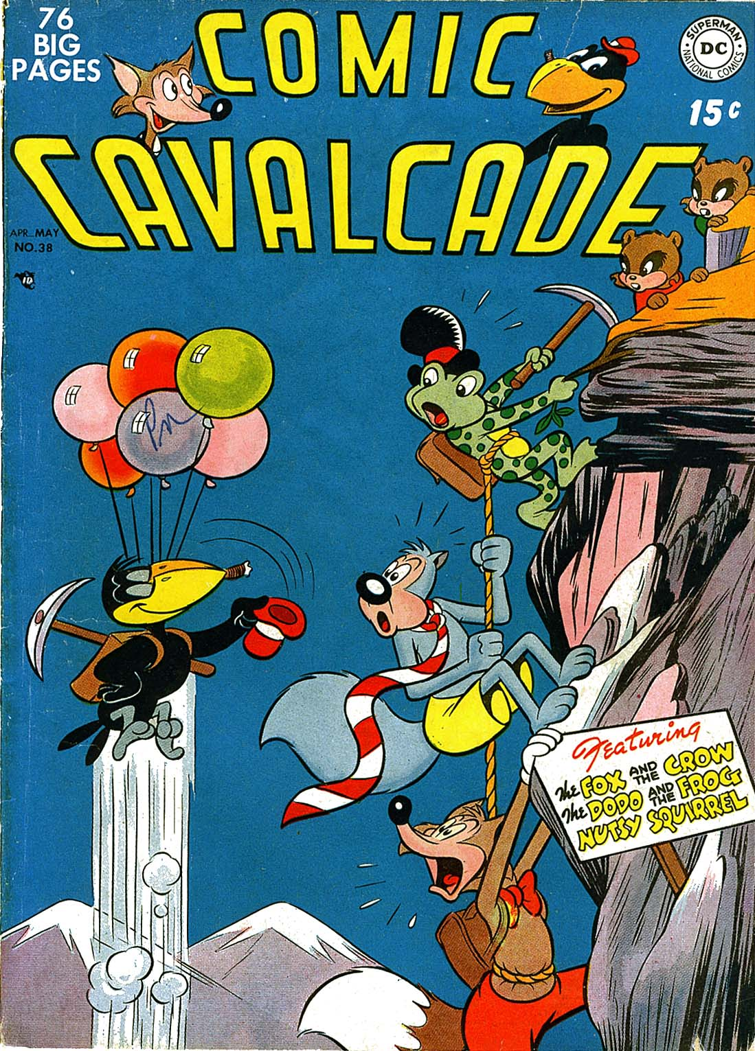 Comic Cavalcade issue 38 - Page 1