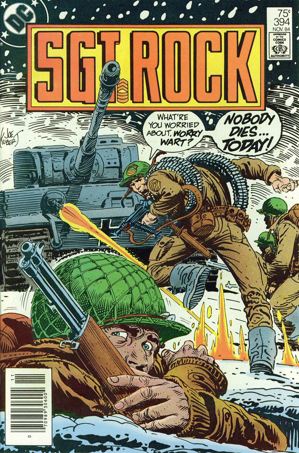 Read online Sgt. Rock comic -  Issue #394 - 1