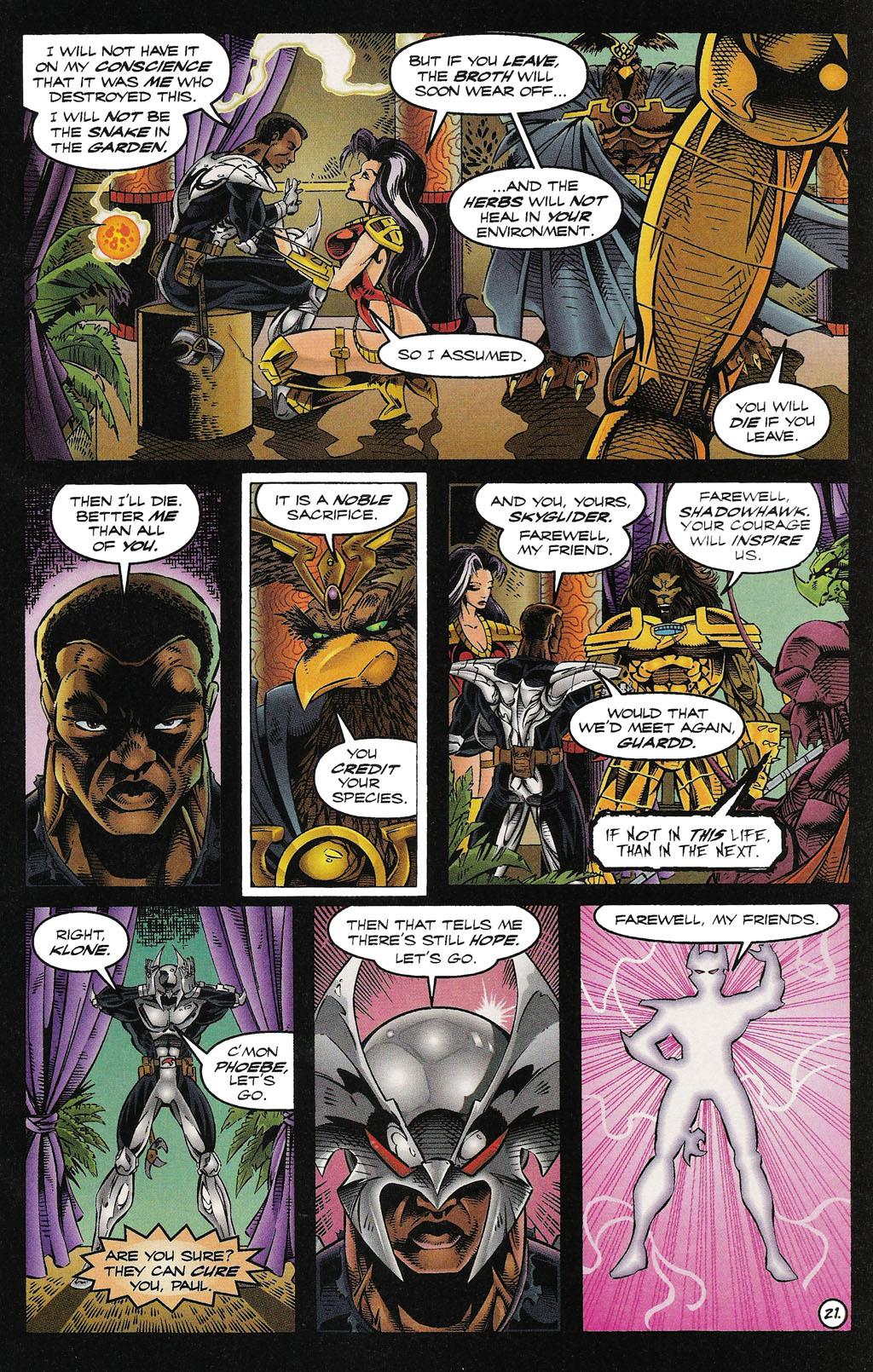 Read online ShadowHawk comic -  Issue #15 - 24