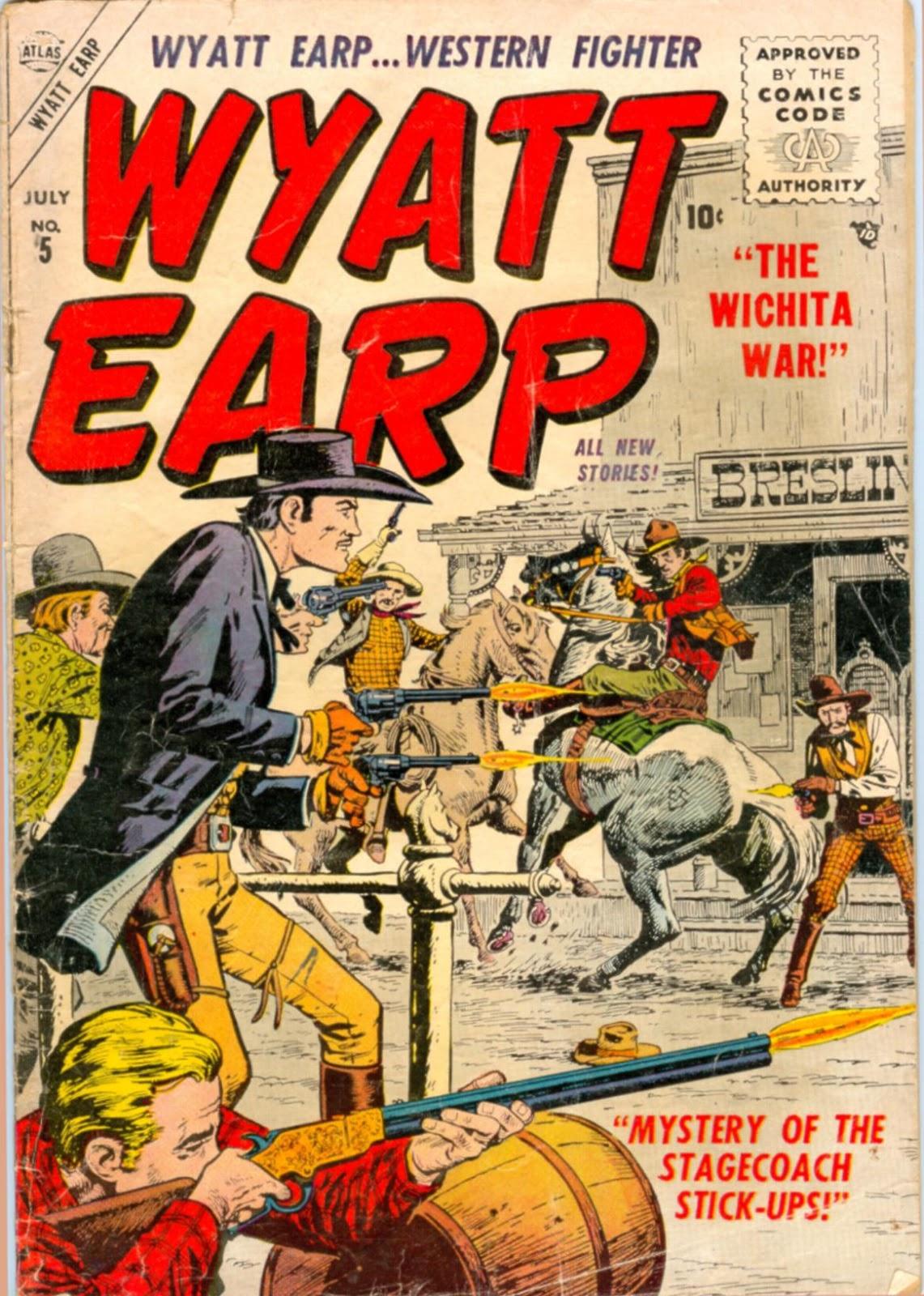 Wyatt Earp issue 5 - Page 1