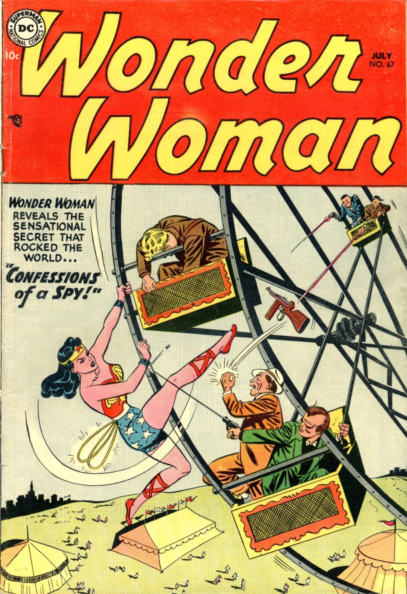 Read online Wonder Woman (1942) comic -  Issue #67 - 1