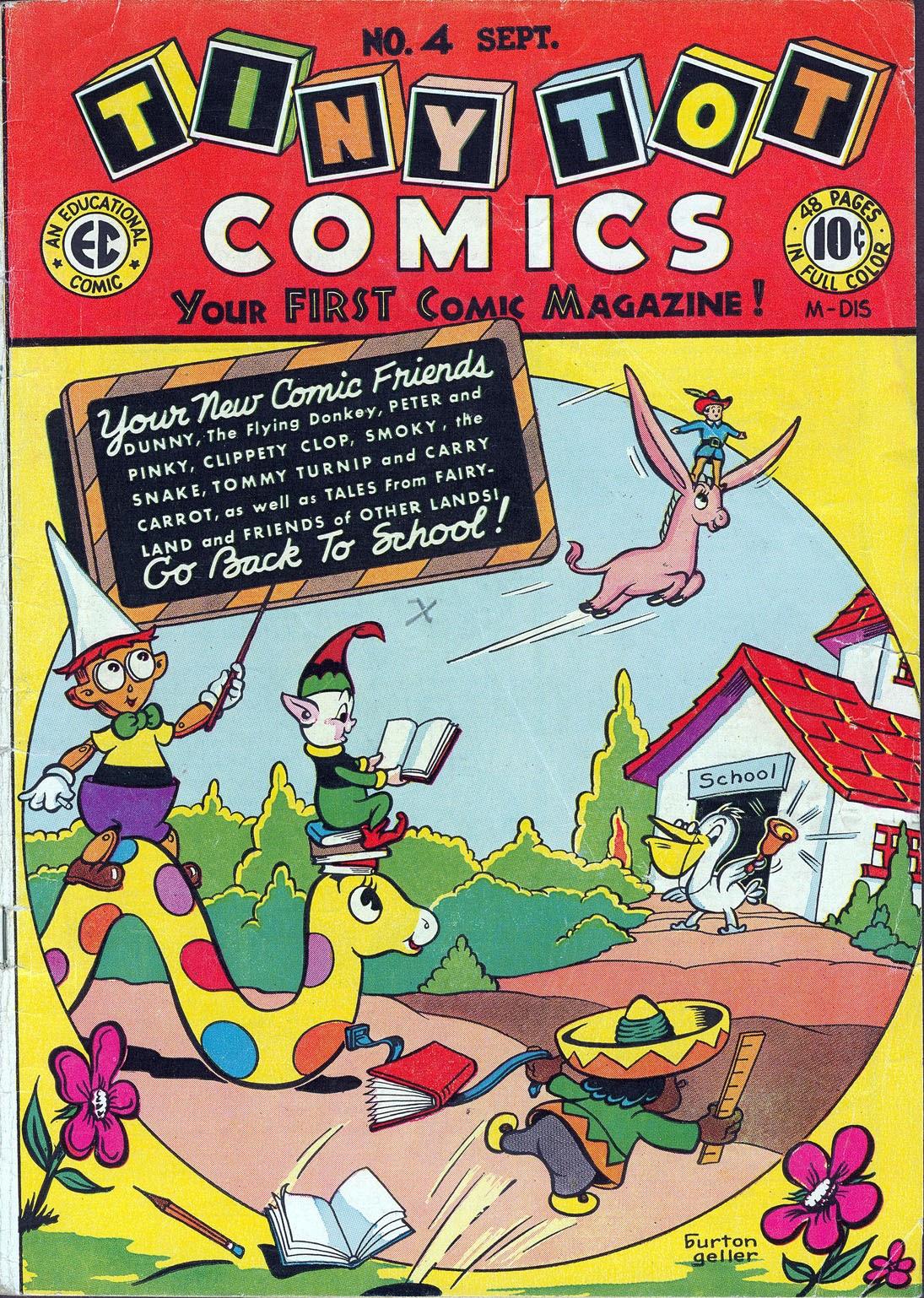 Tiny Tot Comics 4 Page 1