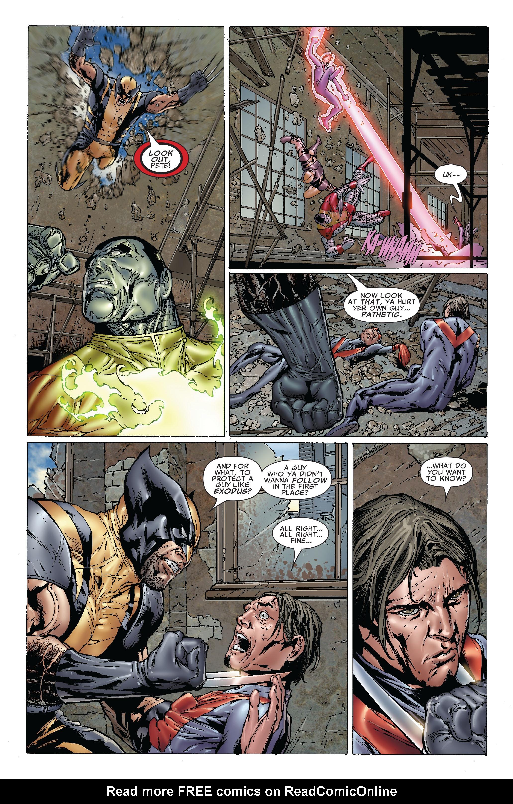 Read online Uncanny X-Men (1963) comic -  Issue #492 - 21