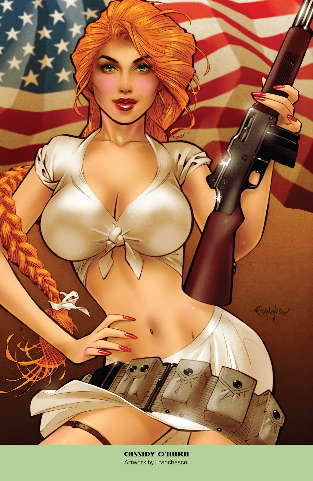 Read online Grimm Fairy Tales: 2019 Armed Forces Edition comic -  Issue # Full - 16