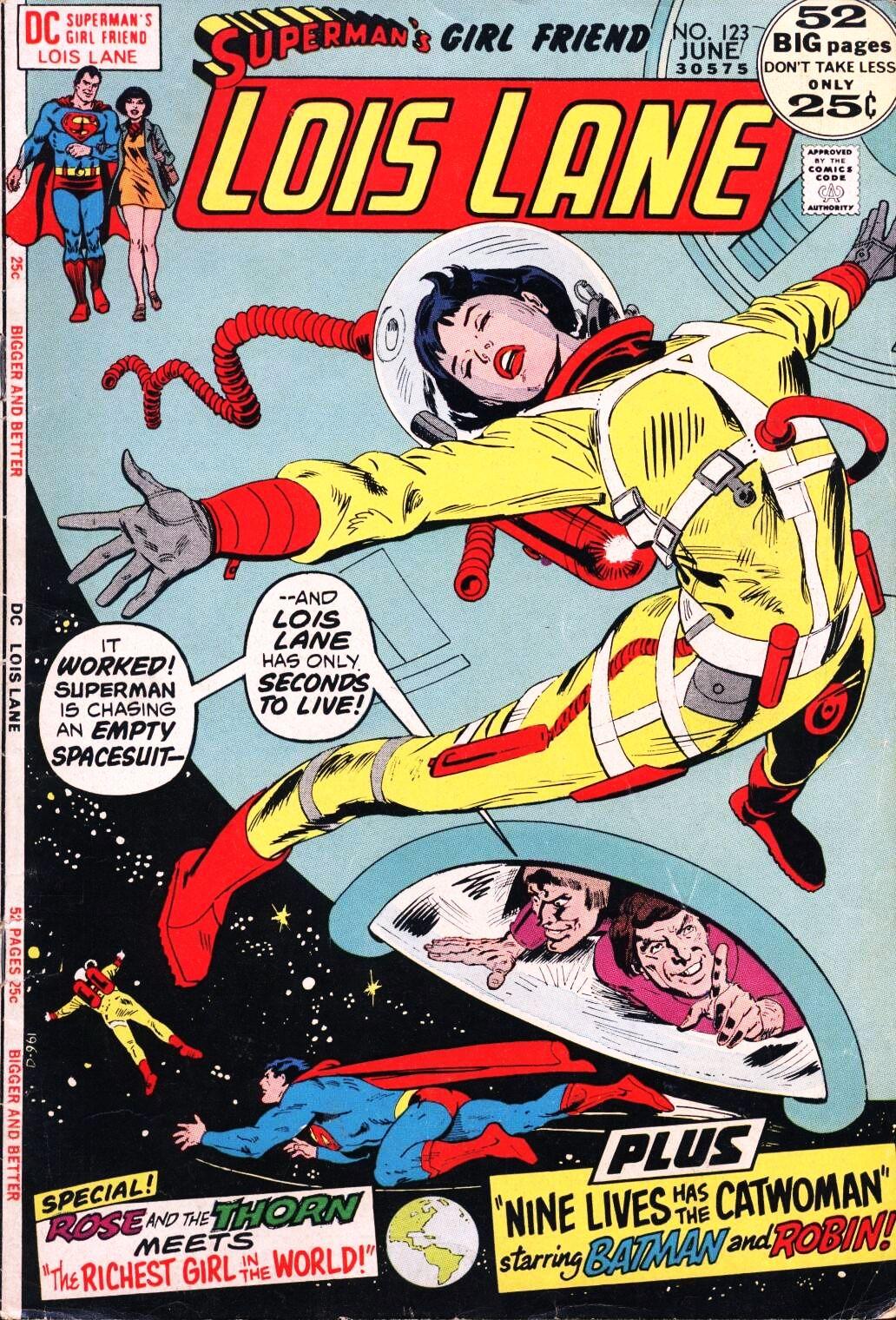 Supermans Girl Friend, Lois Lane 123 Page 1