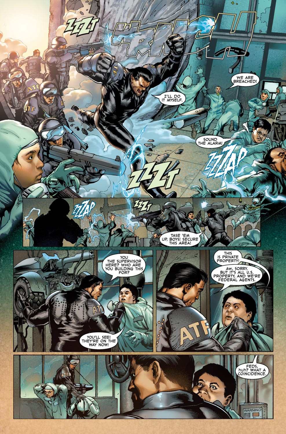 Read online Agents Of Atlas (2009) comic -  Issue #1 - 4