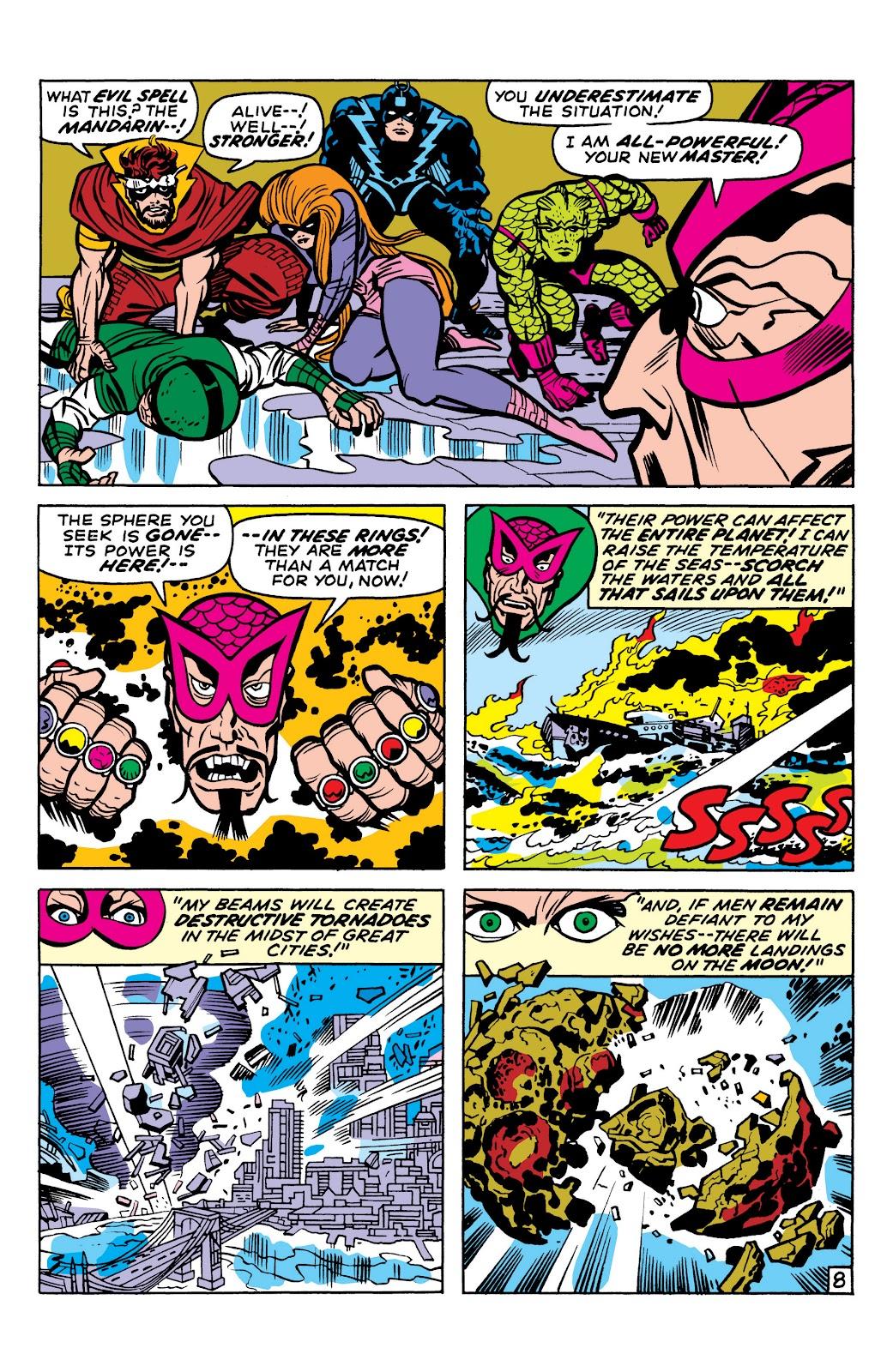 Read online Marvel Masterworks: The Inhumans comic -  Issue # TPB 1 (Part 2) - 10