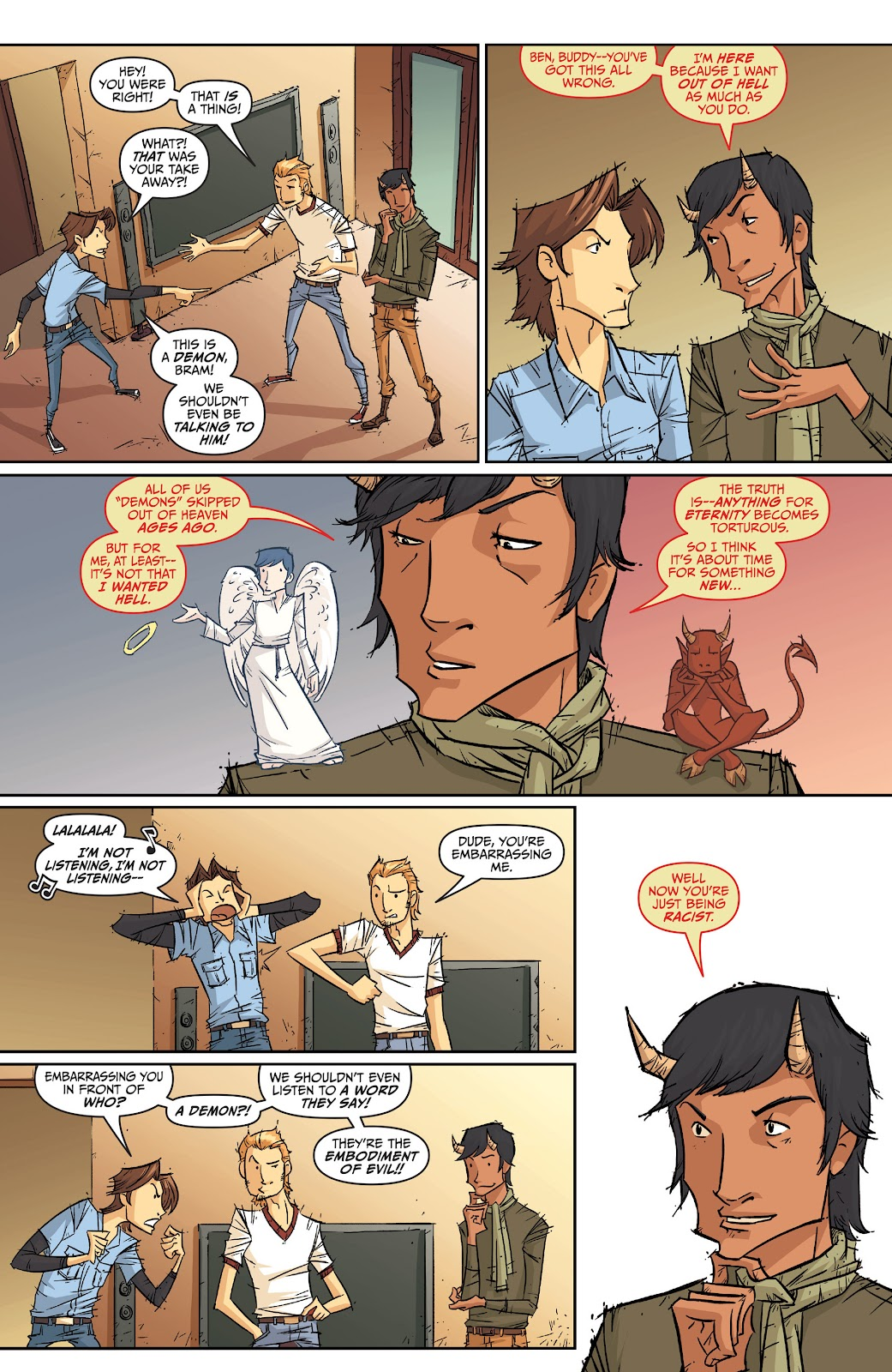 Read online The End Times of Bram and Ben comic -  Issue #2 - 8