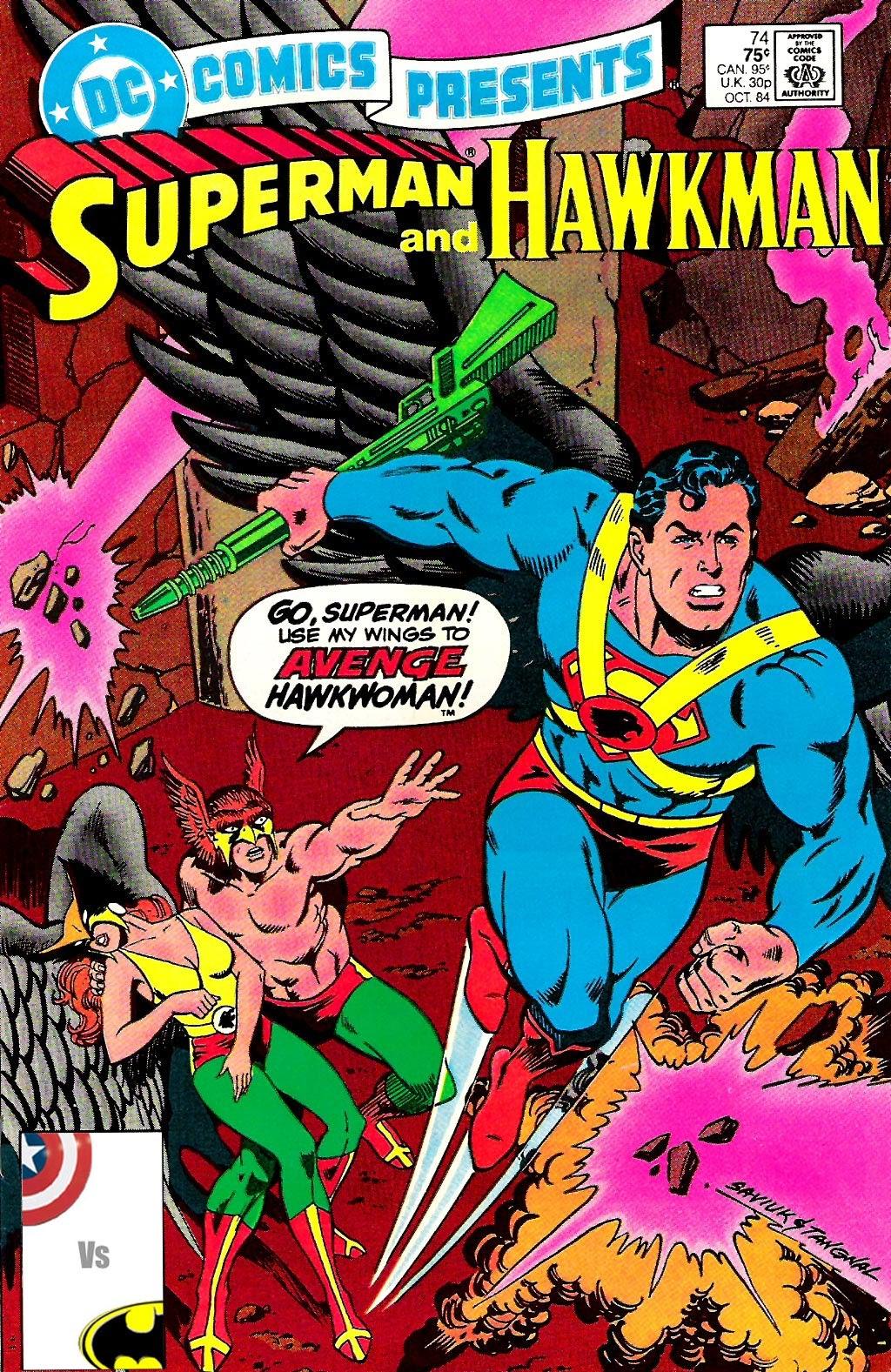 DC Comics Presents (1978) 74 Page 1