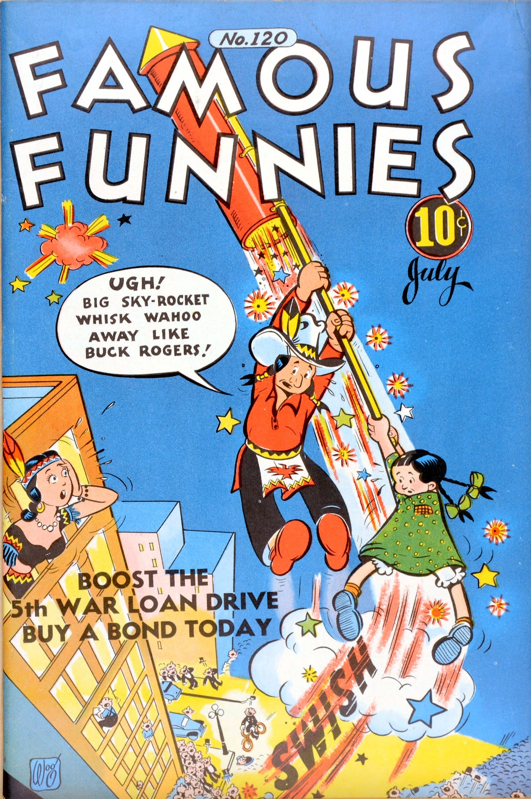 Read online Famous Funnies comic -  Issue #120 - 1