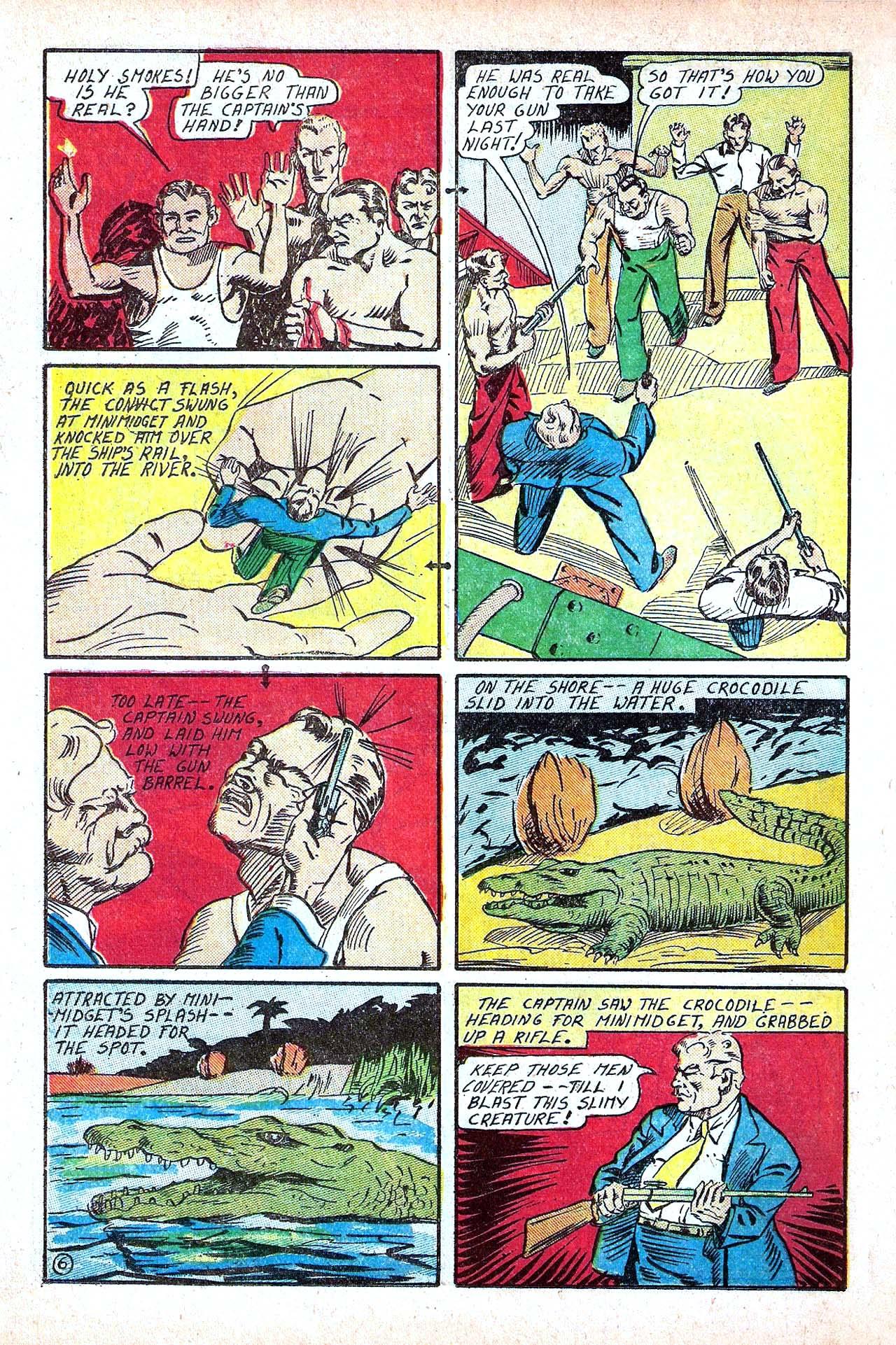 Read online Amazing Man Comics comic -  Issue #11 - 34