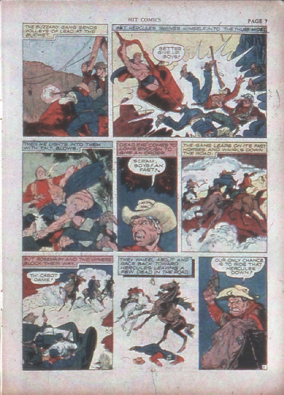 Read online Hit Comics comic -  Issue #15 - 9