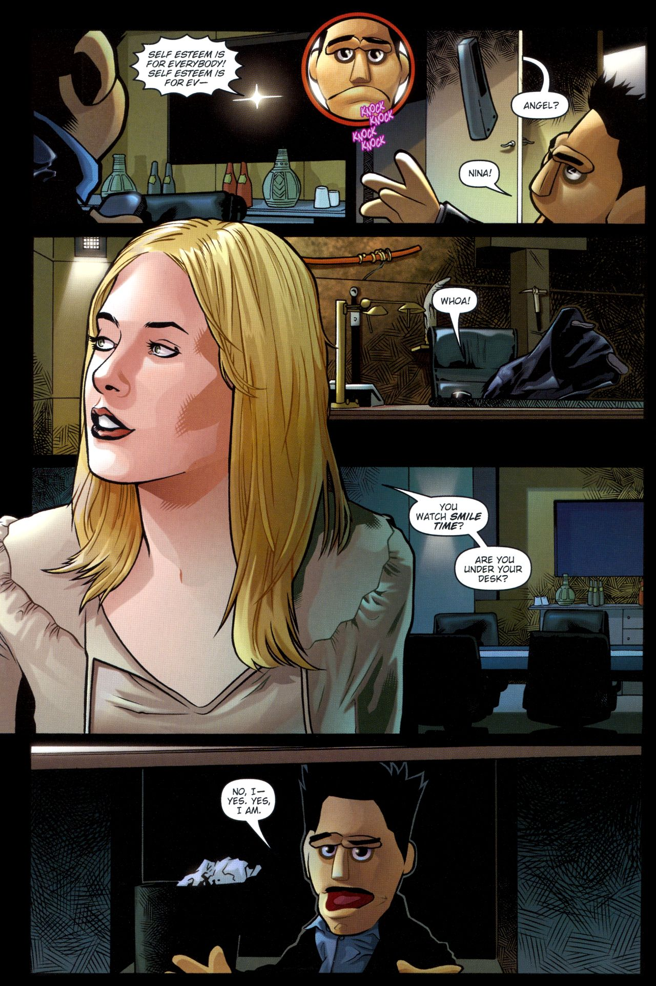 Read online Angel: Smile Time comic -  Issue #2 - 9