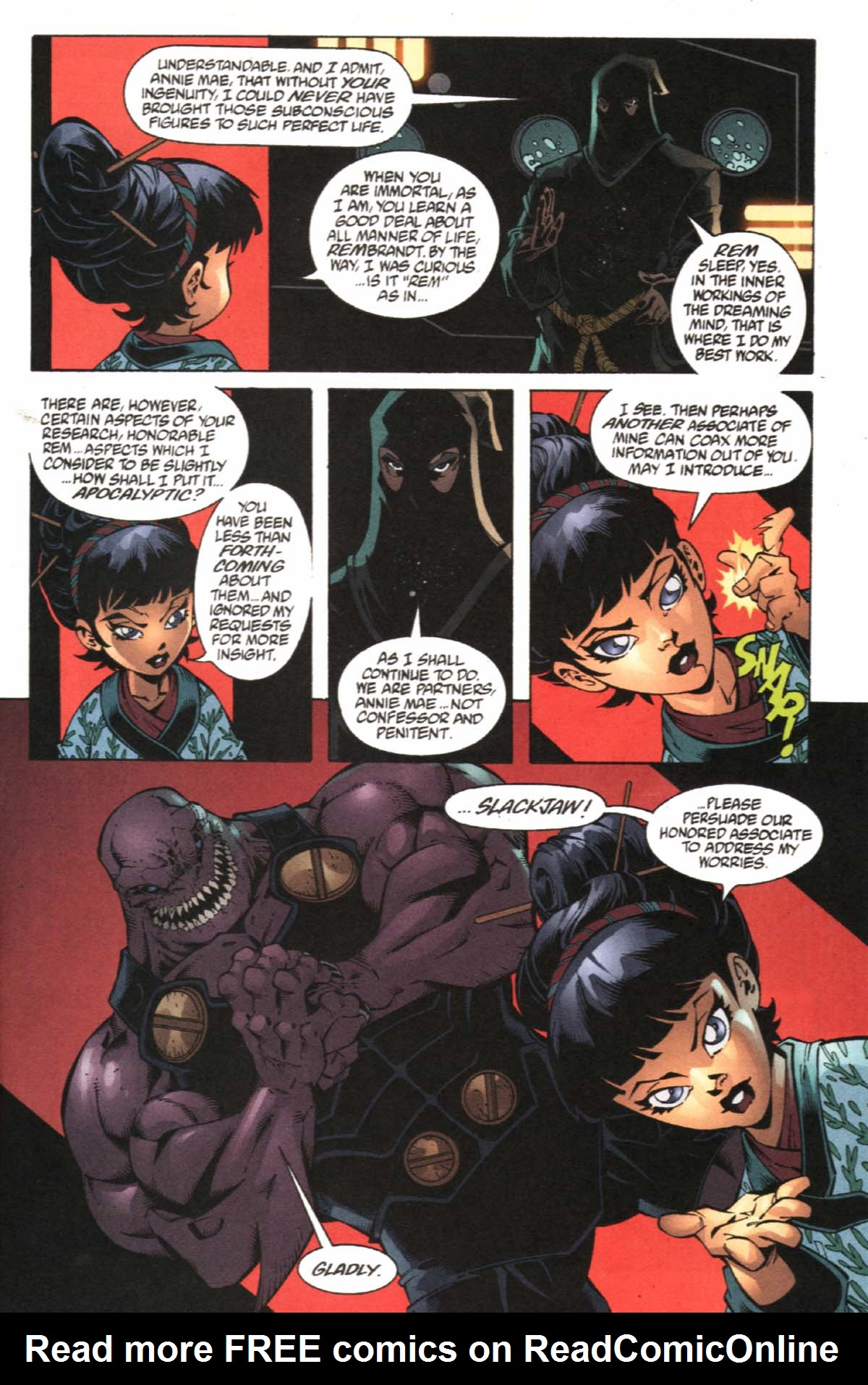 Read online SpyBoy/Young Justice comic -  Issue #1 - 17