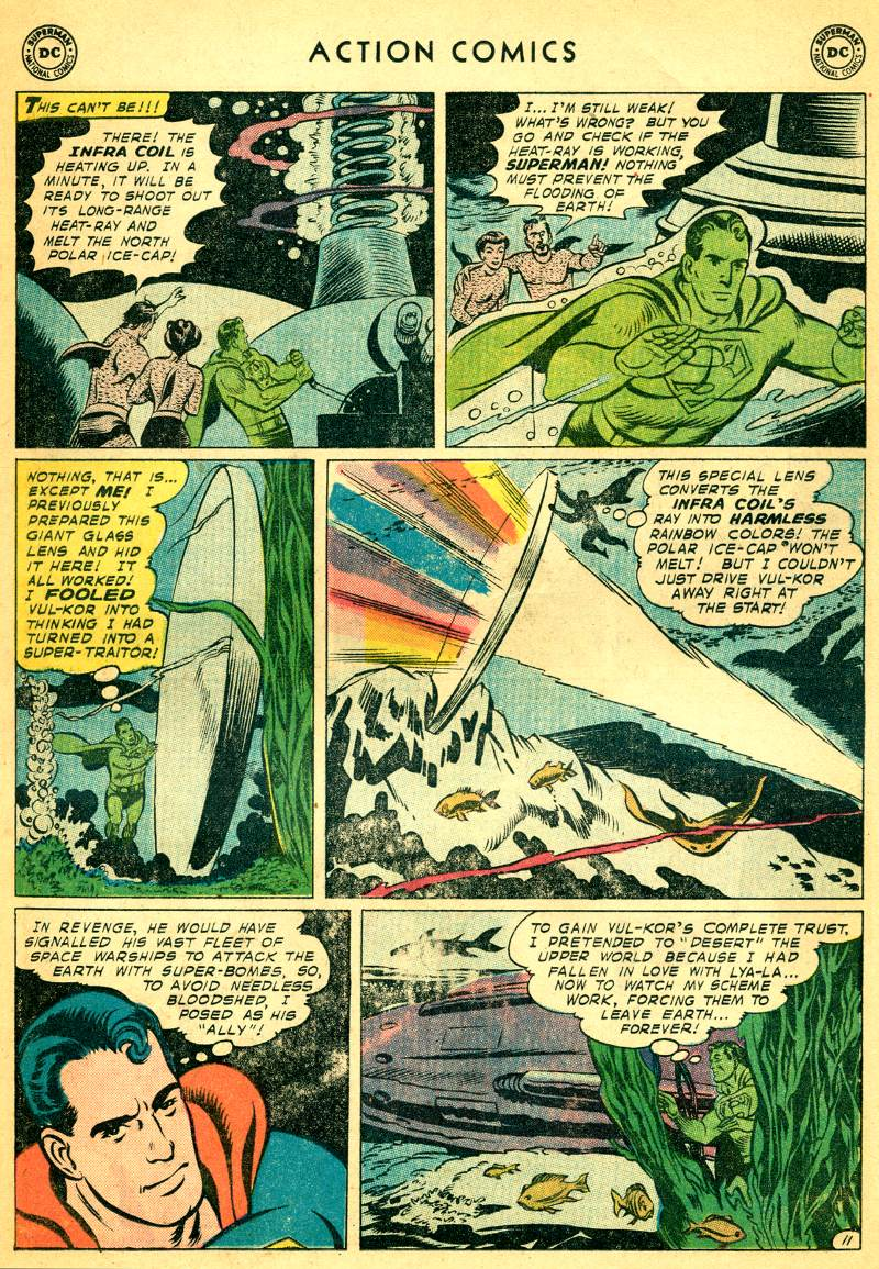 Read online Action Comics (1938) comic -  Issue #244 - 13