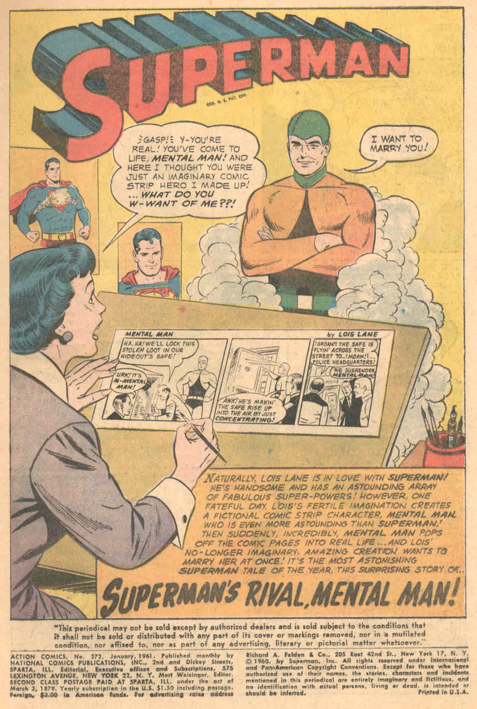 Read online Action Comics (1938) comic -  Issue #272 - 2