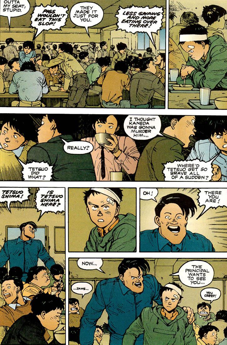 Read online Akira comic -  Issue #3 - 16