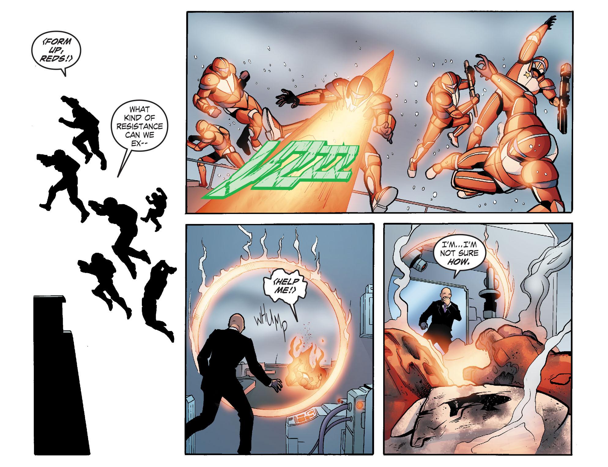 Read online Smallville: Alien comic -  Issue #5 - 21