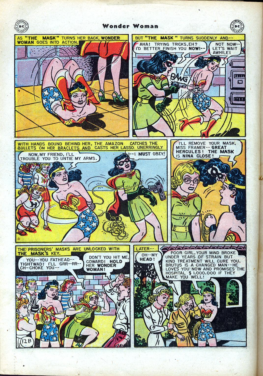 Read online Wonder Woman (1942) comic -  Issue #24 - 32