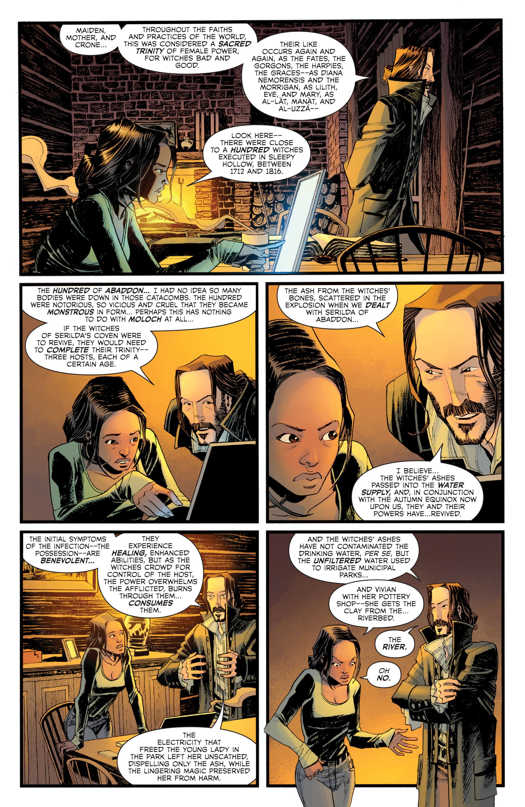 Read online Sleepy Hollow (2014) comic -  Issue #1 - 16