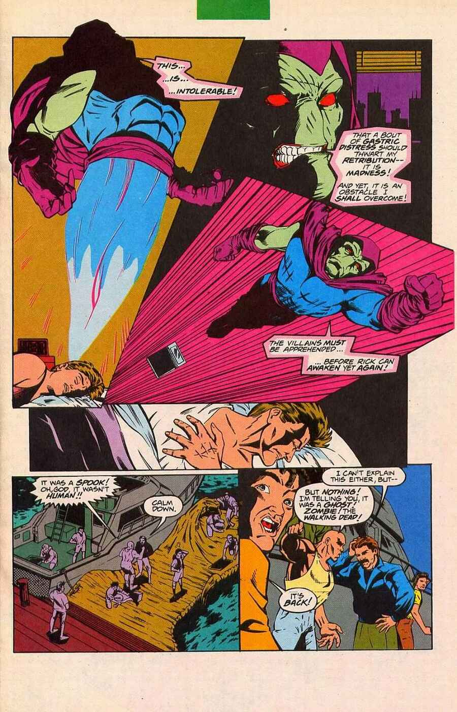 Read online Sleepwalker Holiday Special comic -  Issue # Full - 34